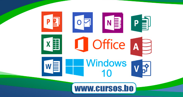 9 Cursos Windows Word Excel PowerPoint Acesss Outlook Visio Publisher y OneNote