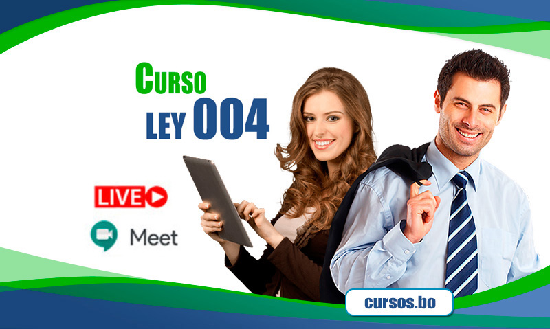 Curso Ley 004 Marcelo Quiroga Santa Cruz - ON LINE (EN VIVO🔴)