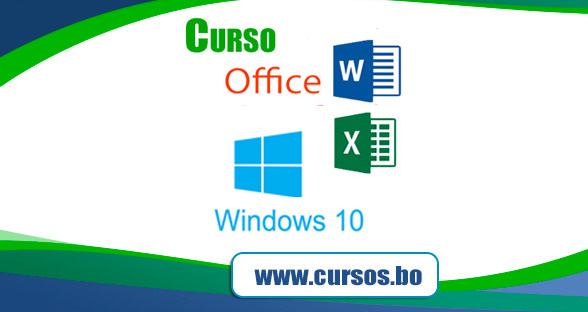 4 Cursos Computación Básica (Windows, Word, Excel, Outlook)