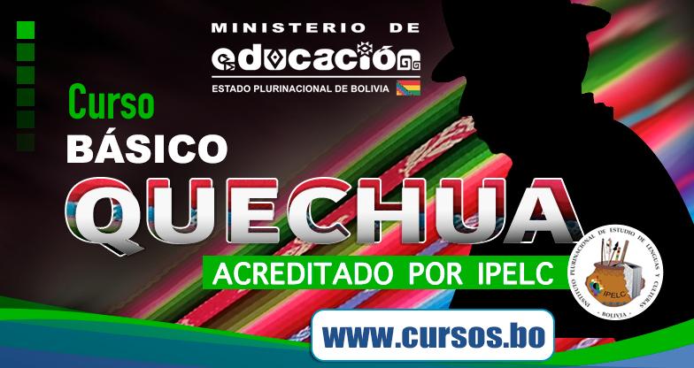 Curso Virtual Quechua Basico Certificacion Ipelc On Line V4 2021 En Vivo