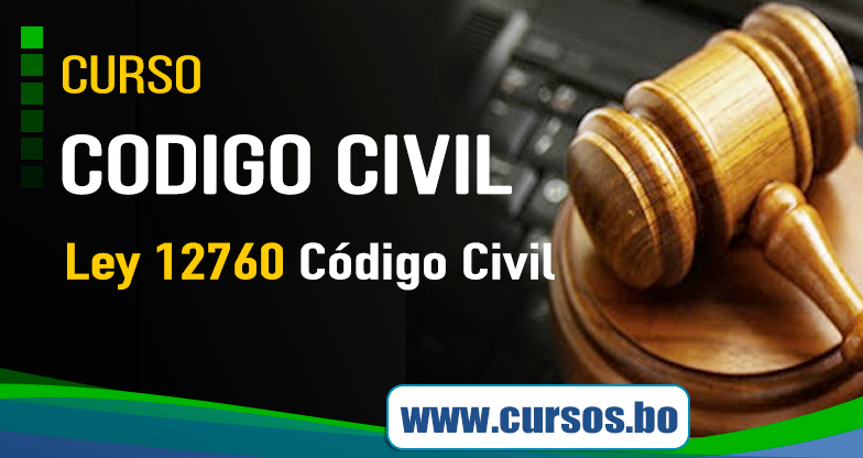 Curso Código Civil Decreto Ley Nº 12760  - On Line(VIVO🔴)
